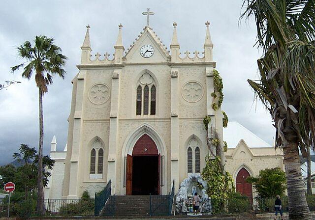 église Saint-Jacques à Saint-Denis île de La Réunion