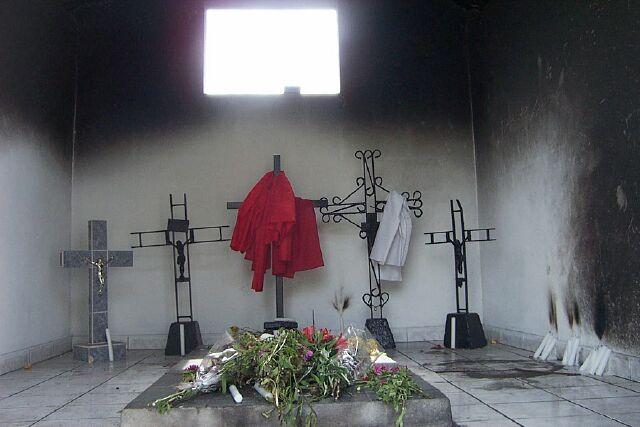 Saint-Louis, cimetière du Père Lafosse, le cimetière des âmes perdues.