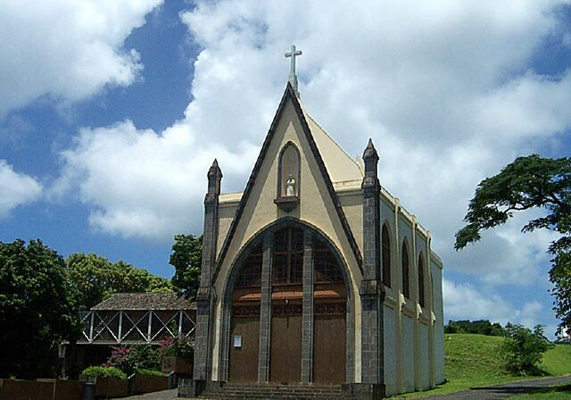 Chapelle Notre Dame de La Salette Sainte-Marie La Réunion