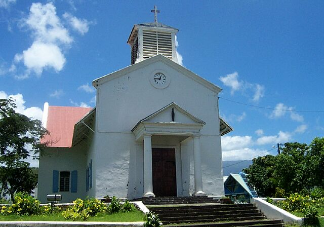 Église de l'Immaculée Conception Sainte-Marie La Réunion.