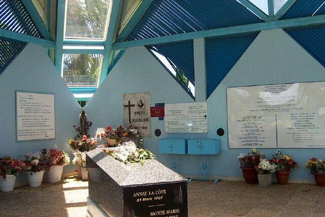 Mausolée du Père Scubilion Sainte-Marie La Réunion