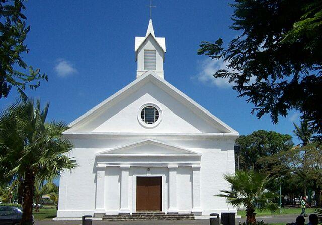 Église Sainte-Suzanne île de La Réunion