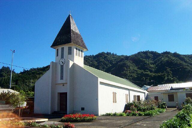 église Tévelave La Réunion