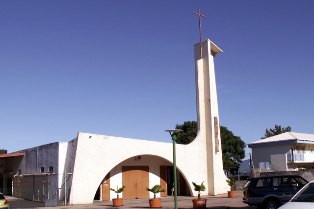églises des Trois Mares Le Tampon La Réunion