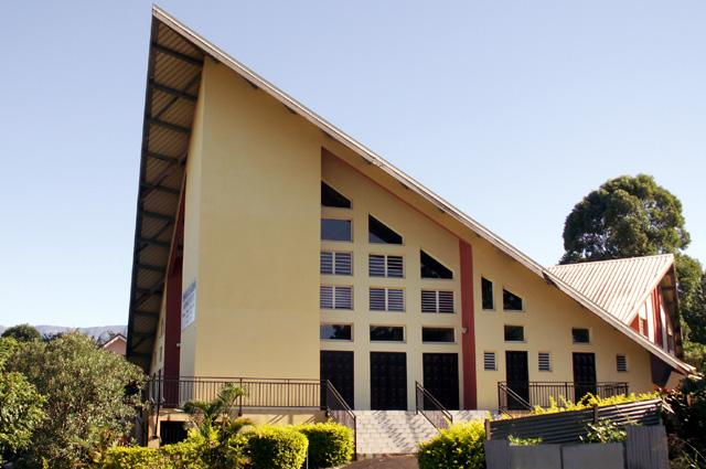 église évangéliste les Trois Mares La Réunion