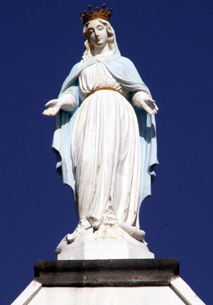 Vierge Église de l'Immaculée Conception Les Avirons