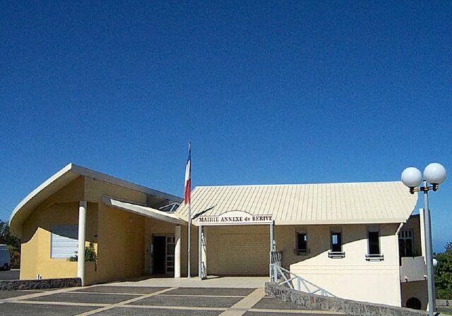 Mairie Bérive La Réunion