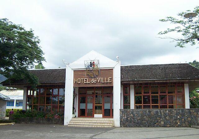 Mairie Entre-Deux La Réunion