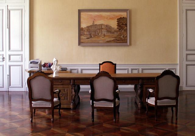 Bureau du maire Hôtel de ville de Saint-Denis