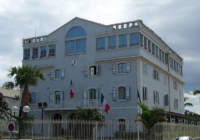 Hôtel de ville Mairie de la ville du Port île de La Réunion