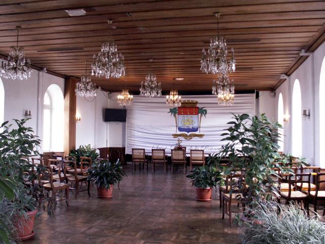 Intérieur de La Mairie de Saint-Pierre île de La Réunion