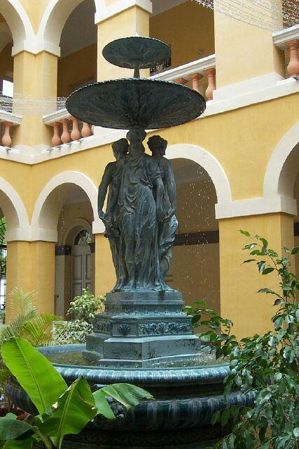 Fontaine Hôtel de Ville de Saint-Denis
