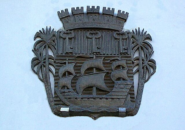 Blason hôtel de ville de Saint-Pierre La Réunion