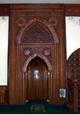 Mihrab de la Mosquée Atyaboul Massadjid à Saint-Pierre île de La Réunion