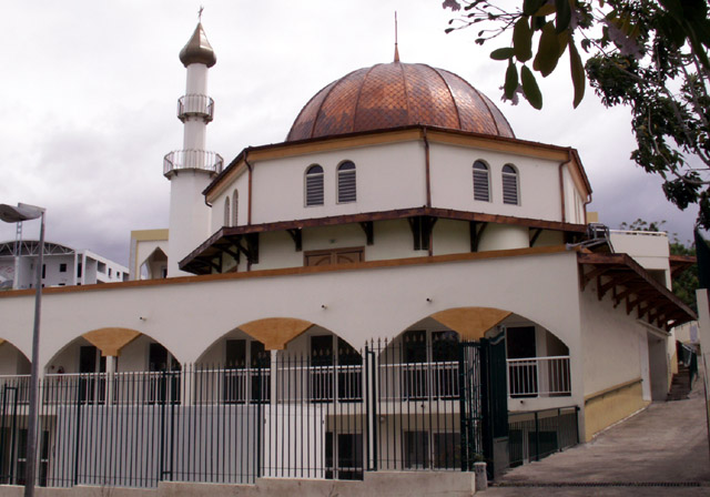 Mosquée Chiite Saint-Denis île de La Réunion