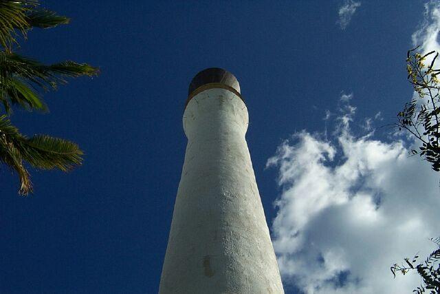 Minaret de la Mosquée Atyaboul Massadjid à Saint-Pierre île de La Réunion
