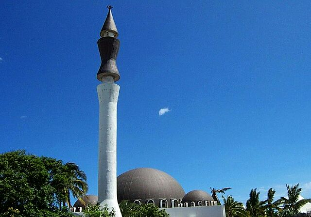 Minaret de la Mosquée Atyaboul Massadjid à Saint-Pierre