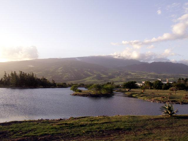 Etang du Gol Saint-Louis île de La Réunion