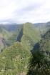 Piton Dorseuil 734 m vallée de Takamaka La Réunion.