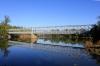 Ancien pont de chemin de fer étang de Saint-Paul La Réunion.