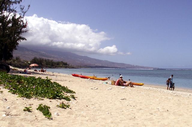Plage du Trou d'Eau La Saline île de La Réunion