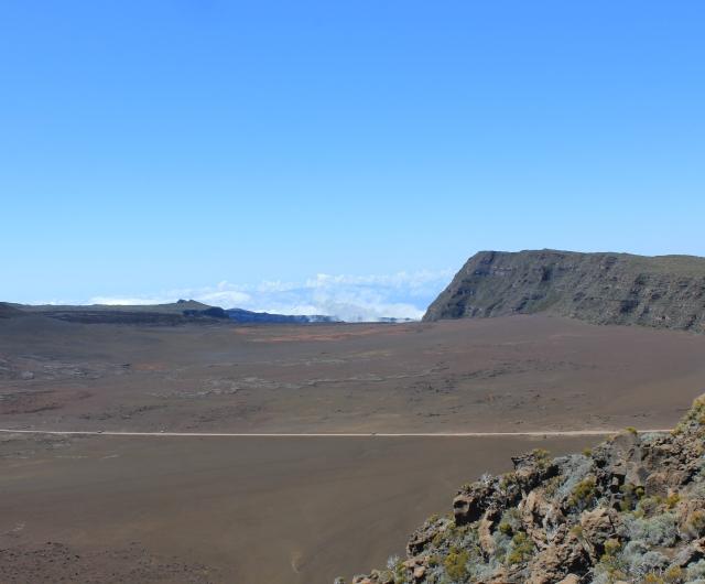Plaine des Sables route du volcan île de La Réunion