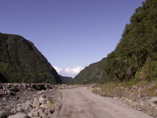 Sentier Roche Plate Rivière des remparts Saint-Joseph île de La Réunion