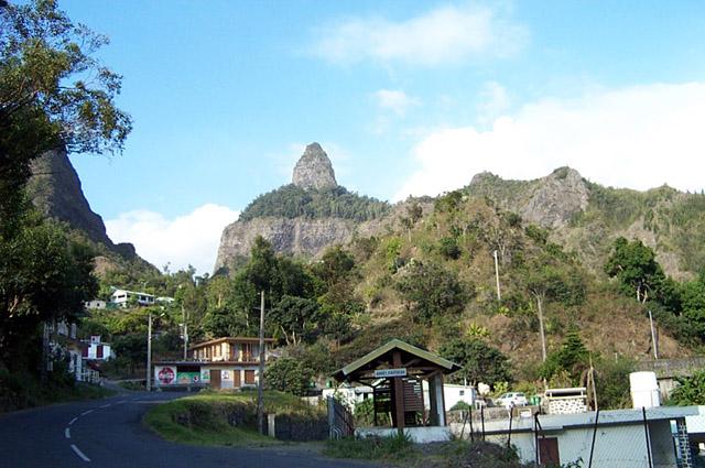 Peter Both village route de Cilaos La Réunion