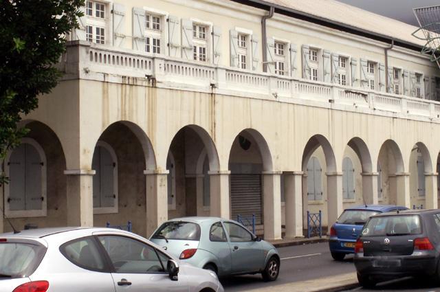 Ancien parc d'artillerie et maison dite du commandant de gendarmerie Saint-Denis La Réunion