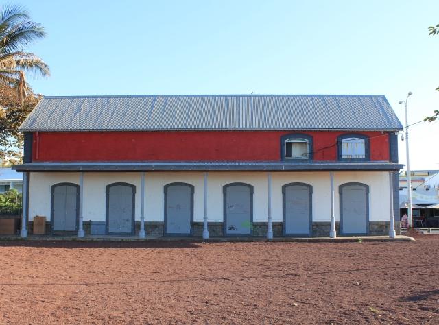 Ancienne gare ferroviaire Saint-Pierre La Réunion.