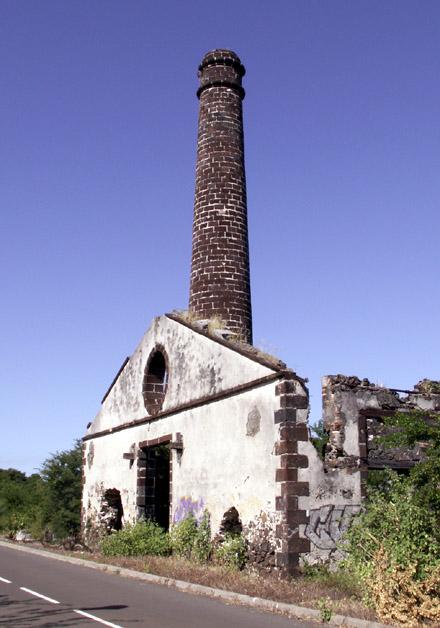 Ancienne usine sucrière des Filaos l'Hermitage La Réunion