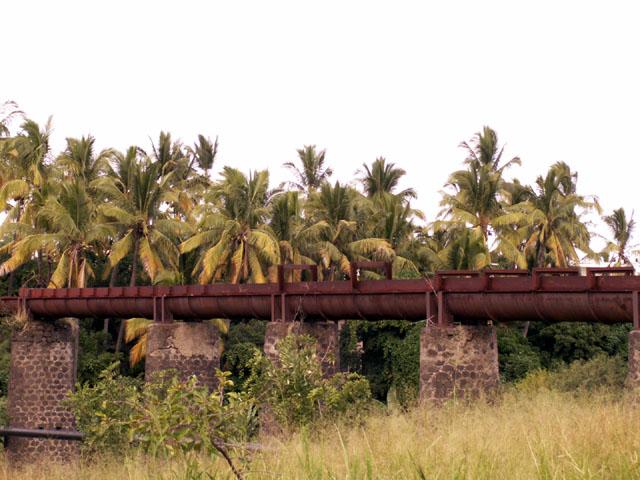 Aqueduc Ravine du Gol à Saint-Louis île de La Réunion