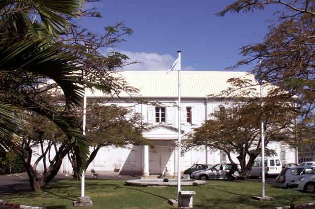Hôpital du Docteur Augustin Hoarau Saint-Louis île de La Réunion