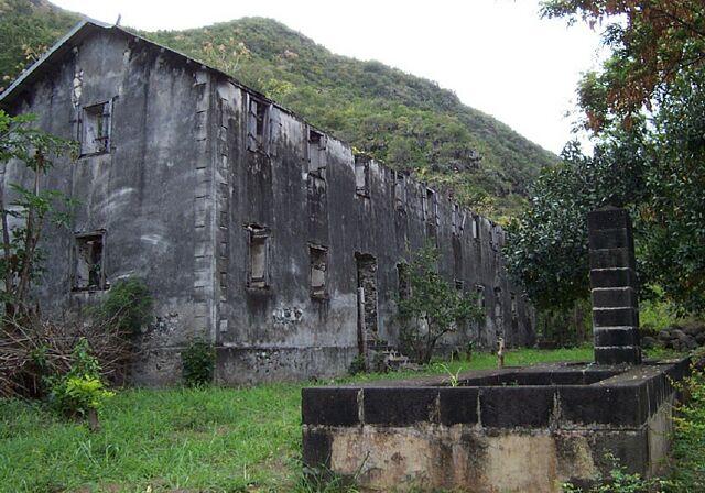 Lazaret La Grande Chaloupe île de La Réunion