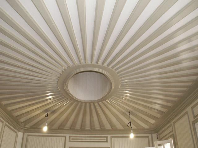 Maison Martin Valliamé Plafond salle à manger