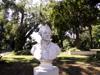 Buste de Pierre Poivre Jardin de l'État Saint-Denis La Réunion