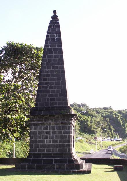 Monument Corbett la Marine Sainte-Rose