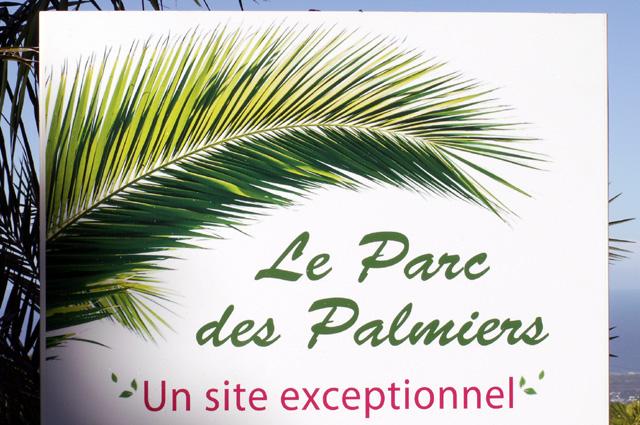 Parc des palmiers Trois Mares La Réunion