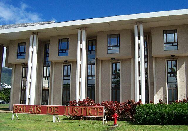 Palais de Justice Champ-Fleuri Saint-Denis La Réunion