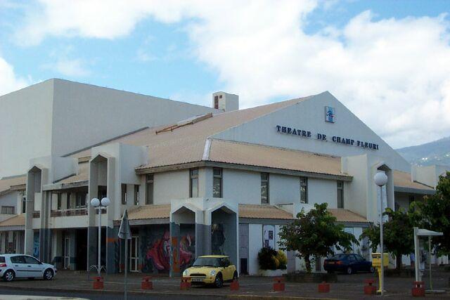 Théatre du Champ-Fleuri Saint-Denis La Réunion