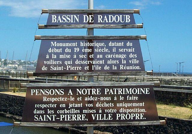 Bassin du Radoub Le port de plaisance de Saint-Pierre