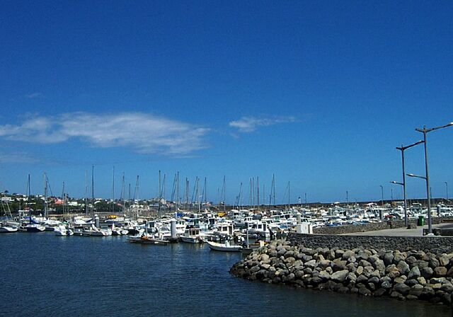 Port de plaisance de Saint-Pierre île de La Réunion