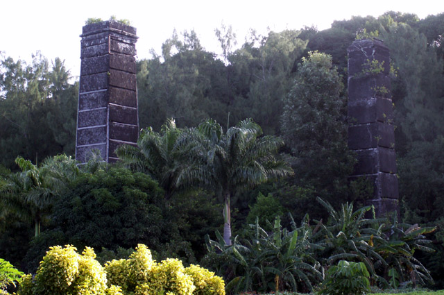 Cheminées ancienne usine sucrière de Langevin