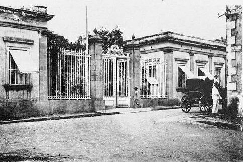 Banque de La Réunion, rue Jean Chatel 97400 Saint-Denis