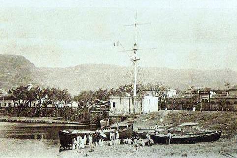 Barachois Saint-Denis île de La Réunion