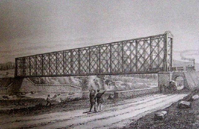 Chemin de fer Pont rivière du Mat Saint-André