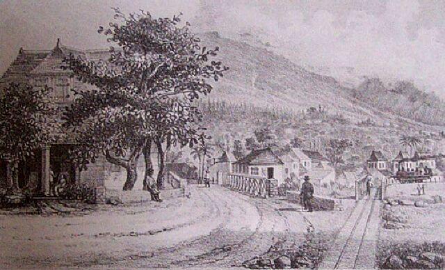 Chemin de fer rivière Charpentier Sainte Marie