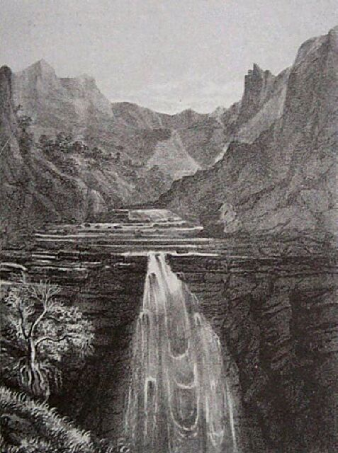 Cilaos cascade du Bras Benjoin