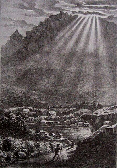 Cilaos le plateau. Album de La Réunion. Antoine Roussin.