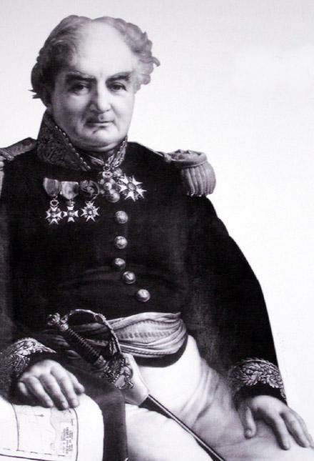 Jacques Philippe Cuvillier gouverneur de Bourbon